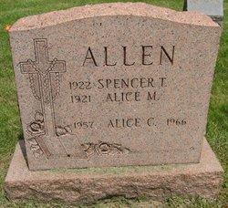 Alice M. <i>Devine</i> Allen