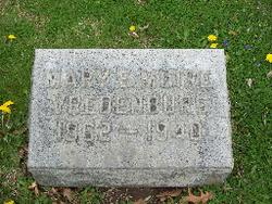 Mary E. <i>Muire</i> Vredenburg