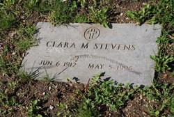 Clara M Stevens