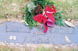 Mabel M <i>Scherer</i> Achey