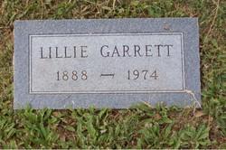 Lillie E <i>Morris</i> Garrett