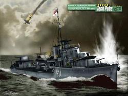 Memorial for HMS JAGUAR