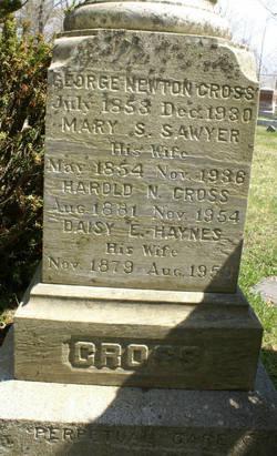 Daisy E. <i>Haynes</i> Cross