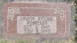Lavina Ruth <i>Ritchie</i> Robinson