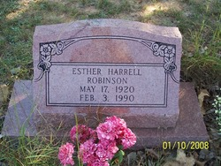 Esther Susie <i>Harrell</i> Robinson