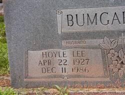 Hoyle Lee Bumgardner