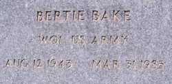 Bertie Bake