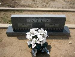 Minnie <i>Taber</i> Barfield