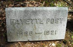 Fayette Post