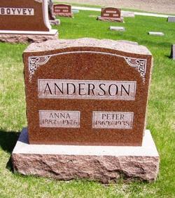 Anna Matilda <i>Berglund</i> Anderson