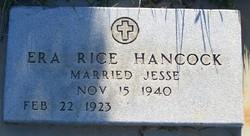 Era <i>Rice</i> Hancock