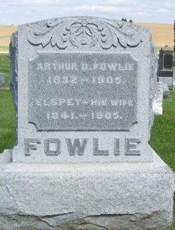 Arthur D Fowlie