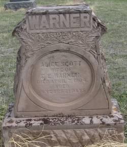 Alice Scott Warner