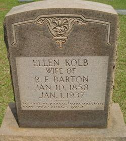 Ellen <i>Kolb</i> Barton