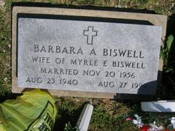 Barbara Ann <i>Graves</i> Biswell