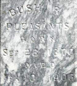 Bush R. Pleasants