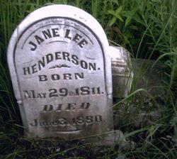 Jane <i>Lee</i> Henderson