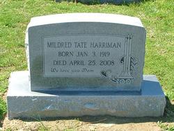 Mildred <i>Tate</i> Harriman