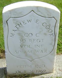 Mathew E. Cook