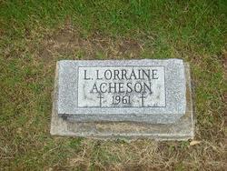 L Lorraine Acheson