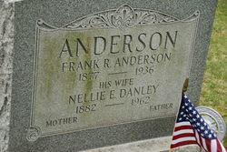 Nellie E <i>Danley</i> Anderson