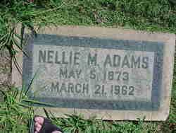 Nellie M Adams