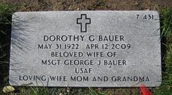 Dorothy G Bauer