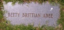 Betty <i>Brittian</i> Abee