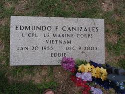 LCpl Edmundo F. Eddie Canizales