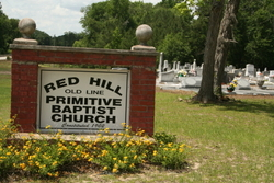 Red Hill Primitive Baptist Church Cemetery