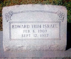 Edward Trimble Israel