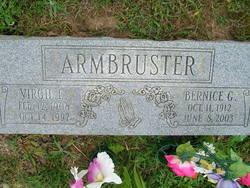 Bernice G <i>Hasse</i> Armbruster