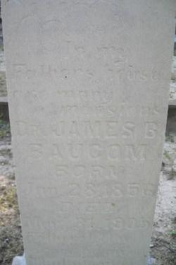Dr James Brittain Baucom