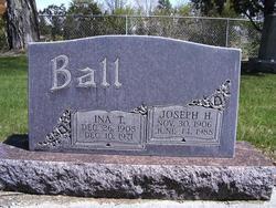 Ina <i>Thomson</i> Ball