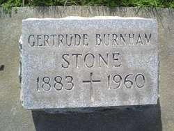 Gertrude A. <i>Burnham</i> Stone