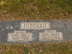Mary Jane <i>Lutz</i> Hibbard