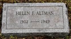 Helen F. Altman