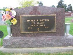 PFC Harry E. Battin