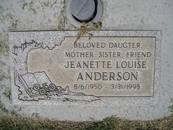 Jeanette Louise Anderson