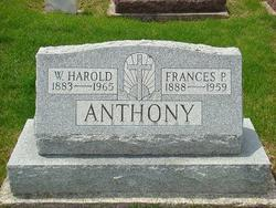Frances P <i>Phillips</i> Anthony