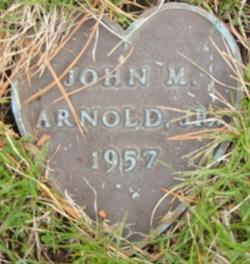 John M Arnold, Jr