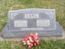 Alfred C. Lang