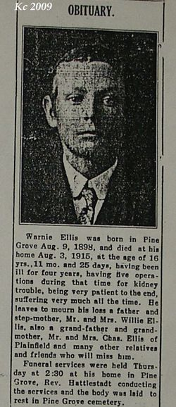 Warren Warnie Ellis