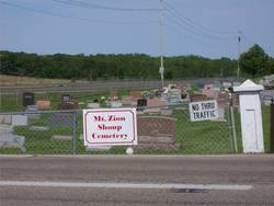 Mount Zion Shoup Cemetery