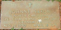 Corp Johnny Max Saxon