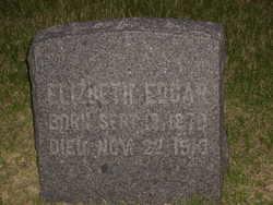 Elizabeth Lizzie <i>Mehaffy</i> Edgar