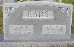 Sadie Mae <i>Morris</i> Eads