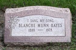 Emma Blanche <i>Munn</i> Hayes