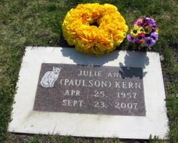 Julie Ann <i>Paulson</i> Kern