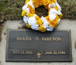 Hulda Olivia <i>Jacobson</i> Paulson